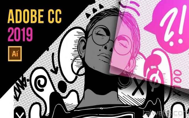 Adobe Illustrator CC 2019 v23.1.0.670 - Repack cài đặt không cần key