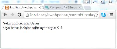 Pengenalan Tipe Data String dan Cara Penulisan String di PHP