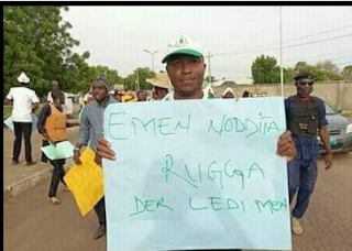 Give us Ruga now, students of Usman Dan Fodio University Sokoto (UDUS) Stage Protest