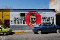 Emiliano Zapata, Oaxaca, Mexique, fresque, art mural, street art, Mexico