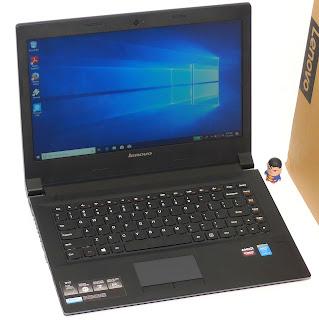 Laptop Gaming Lenovo B40 Core i5 Double VGA Fullset