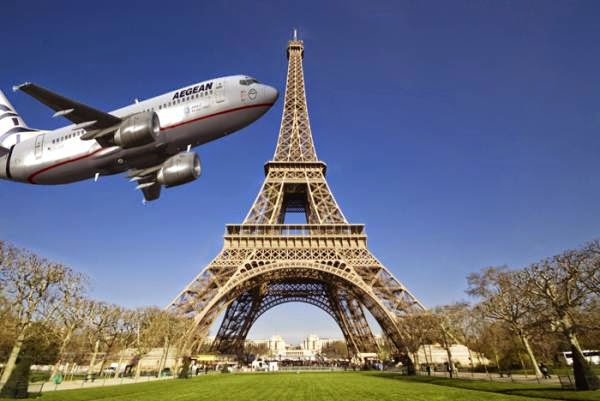 Αεροπορικές πτήσεις απευθείας από Καλαμάτα - Παρίσι