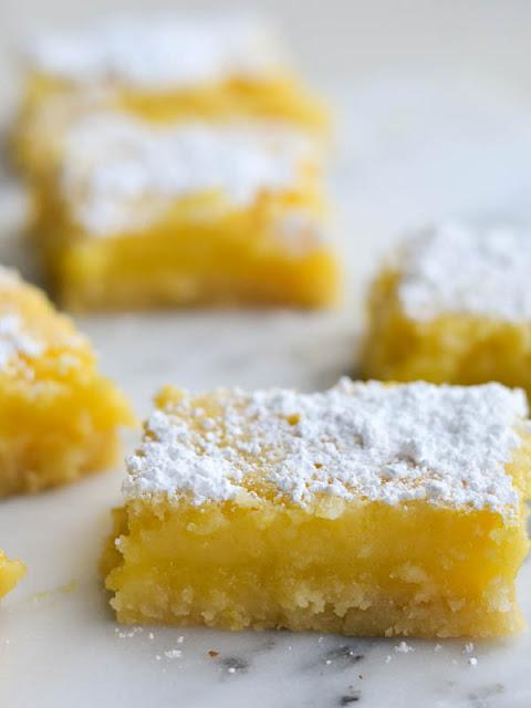 Classic Lemon Bars by Rachel Schultz