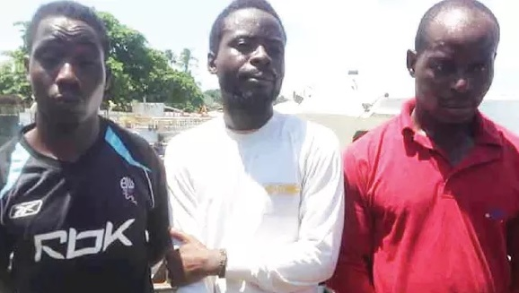 4 Desperate Nigerians Who Smuggled Themselves Into Malaysia-Bound Cargo Ship Nabbed
