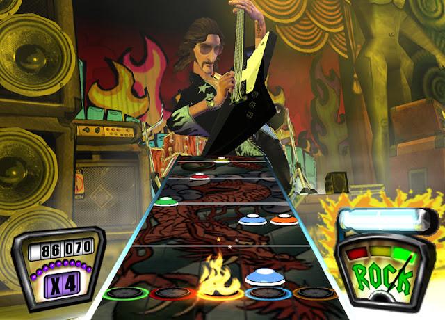 Guitar Hero II PS2 GAME ISO Screenshot 1