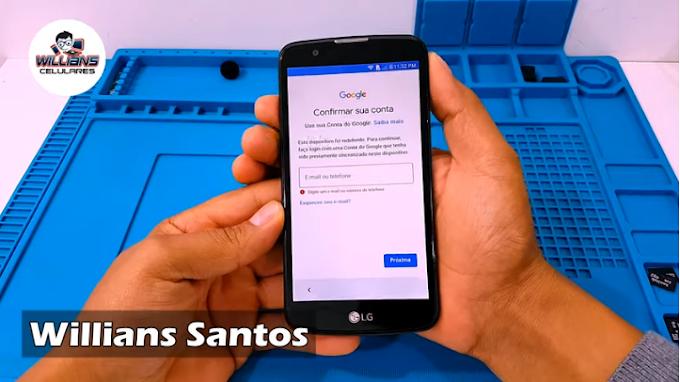 Aprenda a Remover a Conta Google LG K10 K430, K430TV. Atualizado.