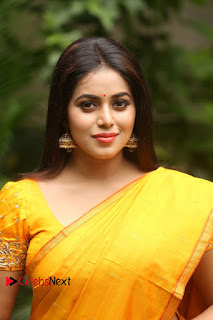 Actress Poorna Pictures in Saree at Avanthika Movie Opening  0002