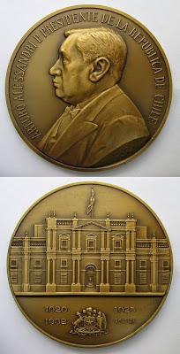 Medalla Presidencial  Arturo Alessandri