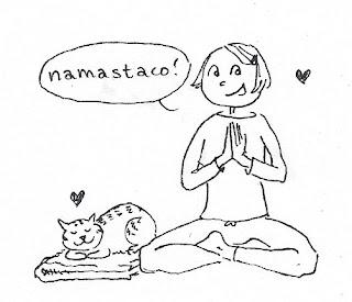 taco yoga, namastaco, taco cleanse