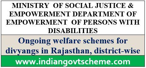 Welfare Schemes for Divyangs
