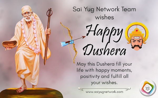 Happy Dusshera From Sai Yug Network Team