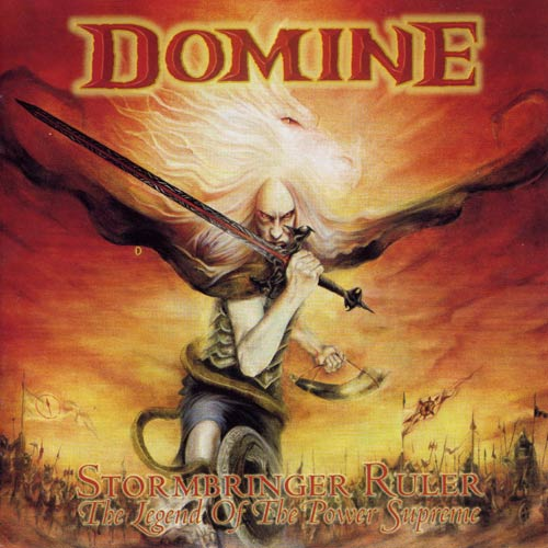 """Ο δίσκος των Domine """"Stormbringer Ruler - The Legend of the Power Supreme"""""""