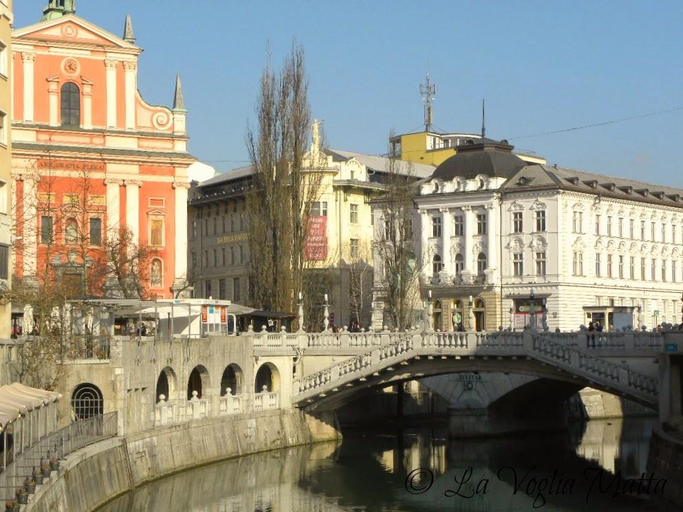 reportage Ljubljana Tromostovje