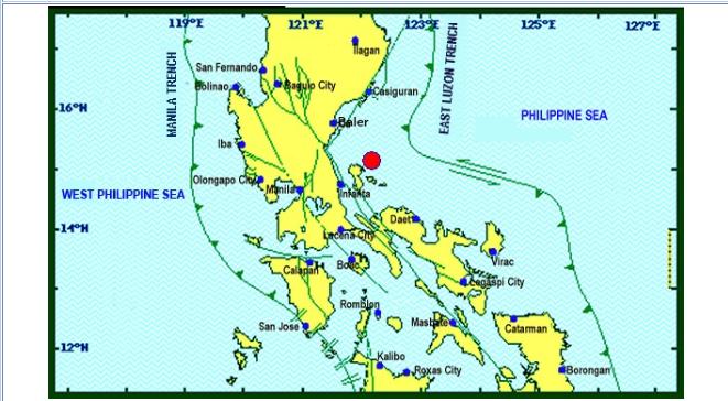 Magnitude 5.5 earthquake shakes Metro Manila, Luzon on September 13, 2019