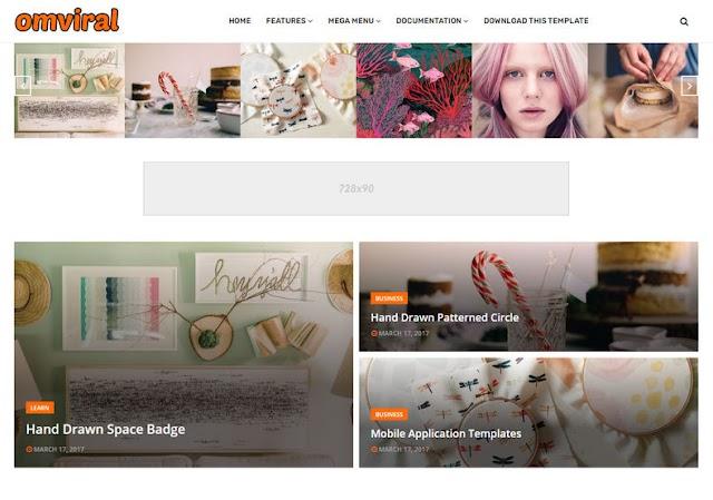 OmViral Blogger Template