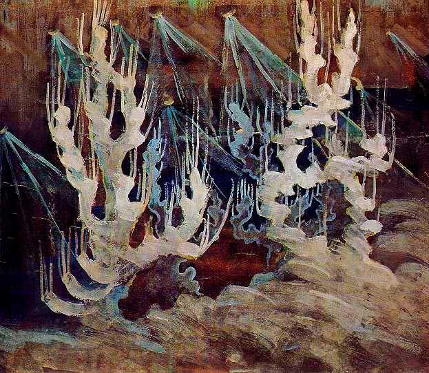 Чюрлёнис Микалоюс Константинас - Зима (II). 1907