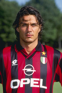 Paolo Maldini followed his father in  signing for AC Milan