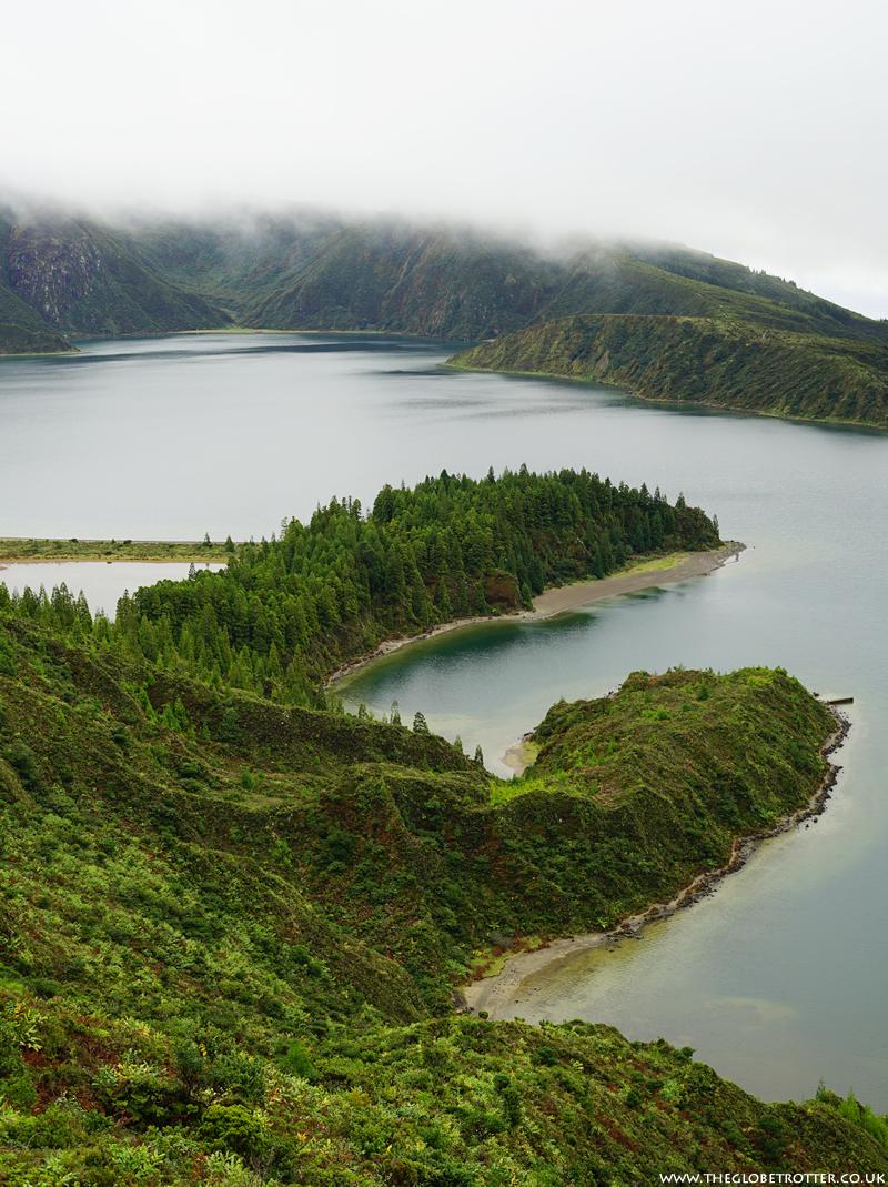 Lagoa do Fogo in Ribeira Grande