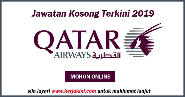 jawatan kosong Qatar Airways