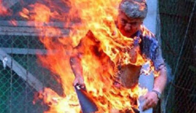 والد طالب بـISET المهدية يهدد بحرق نفسه