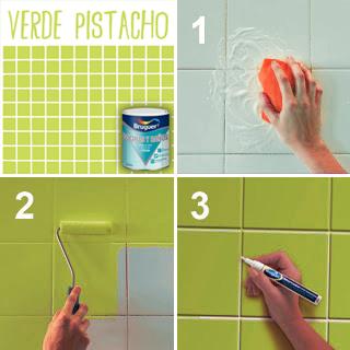 Mundocolor bruguer c mo renovar tu ba o o cocina f cilmente - Pintura bruguer para azulejos ...