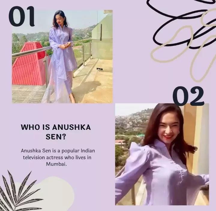 Anushka Sen biography in English