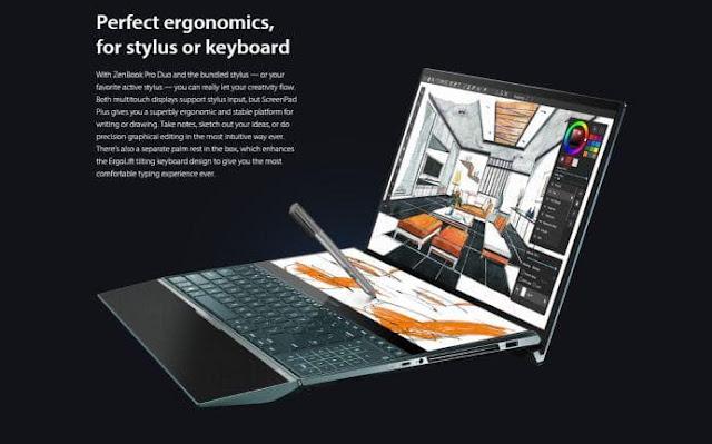 ASUS Zenbook Pro Duo - Untuk Para Profesional
