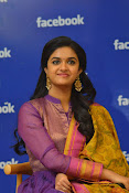 keerthi suresh at facebook office-thumbnail-7
