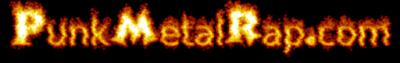 """PunkMetalRap.com bastard interim """"logo""""."""