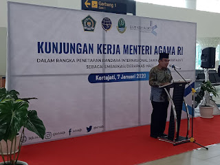 Bandara Internasional Jawa Barat (BIJB) Kertajati ditetapkan sebagai Embarkasi dan Debarkasi Haji