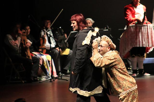 Adaptación de la mascarada de Zuberoa realizada por Ibarra-Kaldu