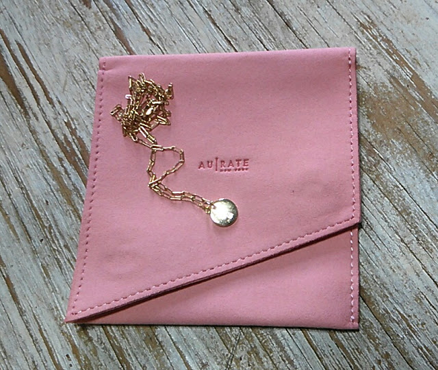 Gold Necklace for her for Valentine's Day Gift