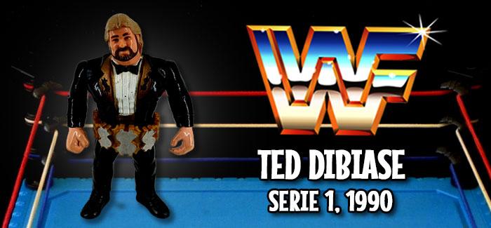 Figura Pressing Catch: Ted DiBiase (Hasbro, 1990)
