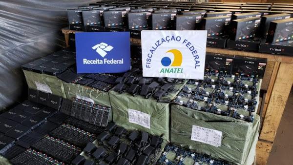 70 mil Boxs TV apreendidas no Brasil