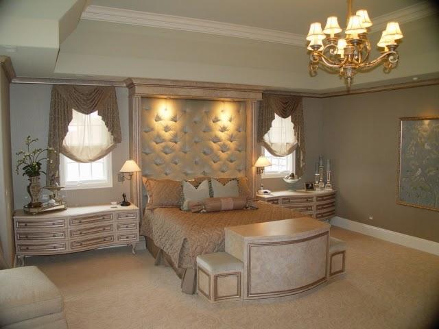 Habitación en plata dorado