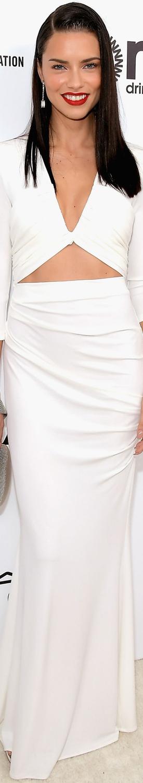 Adriana Lima 2017 Elton John Oscar Party