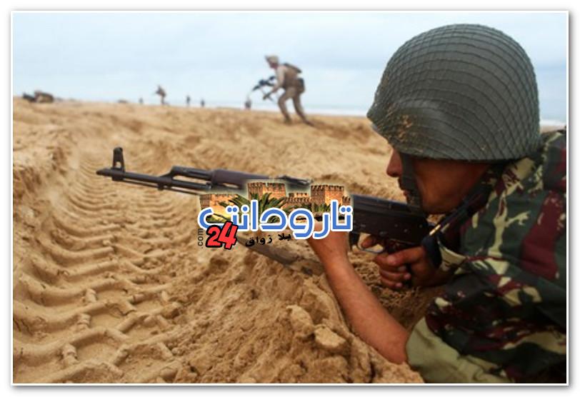 تارودانت24 _ القوات المسلحة الملكية تطلق الرصاص على عصابة بمنطقة كلتة زمور القريبة في الحدود مع الجزائر