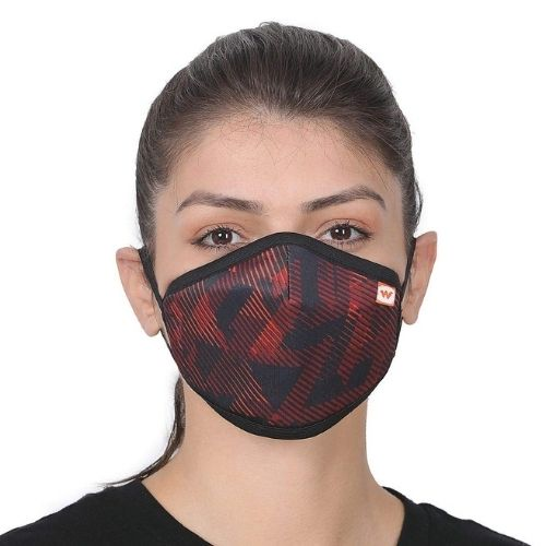 Wildcraft Red Trizi Face Mask