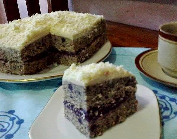 Resep Cake Kukus Ubi Ungu: Cara Membuat Brownies Kukus Lapis Ubi Ungu