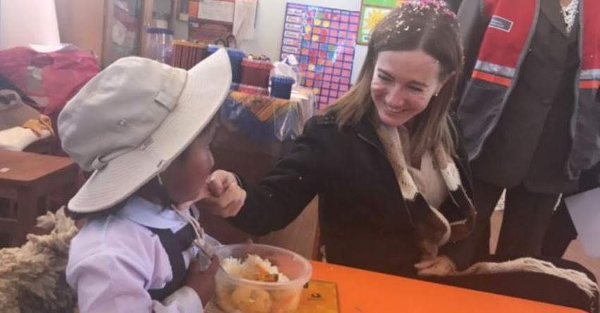 MINEDU: Ministra de Educación supervisó en Puno plan de contingencia ante heladas - www.minedu.gob.pe