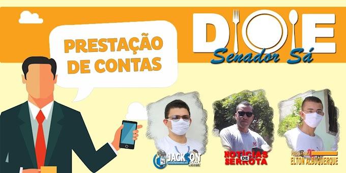 PRESTAÇÃO DE CONTA: Campanha Doe Senador Sá beneficia 133 famílias no município.