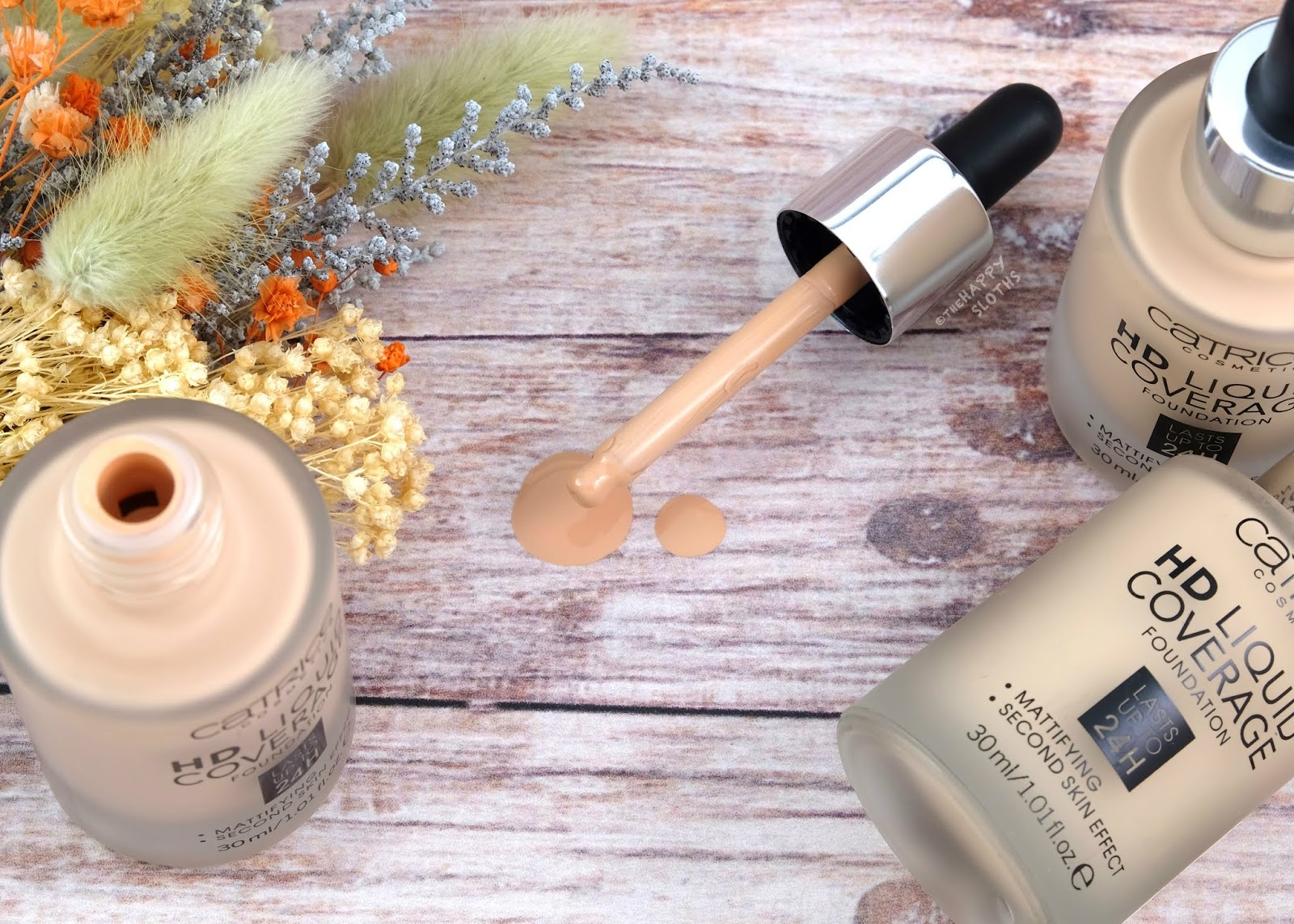 Catrice | HD Liquid Coverage Foundation: Review and Swatches