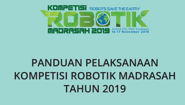 JUKNIS LOMBA ROBOTIK MADRASAH 2019