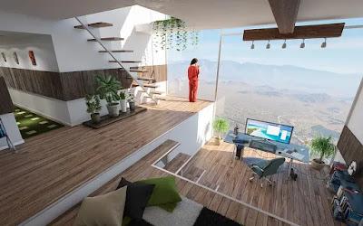 casa moderna-stile minimalista-design