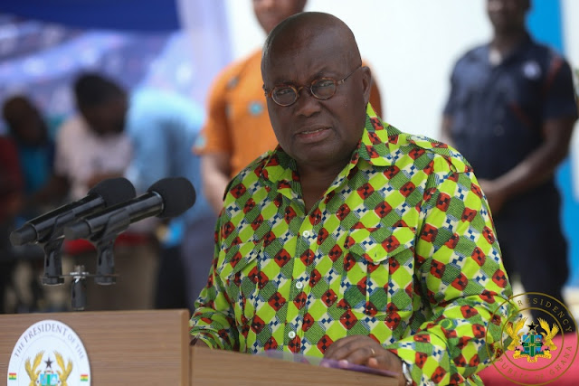 """Thank You Mr President"" -Teacher Trainees Honour President Akufo-Addo"