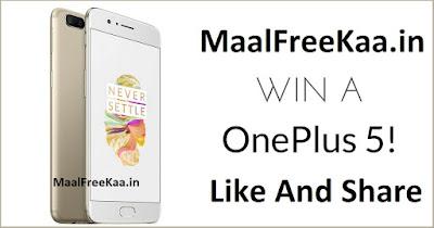 Free OnePlus 5 Phone