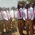 Bishop David Oyededo attends school reunion in his old school uniform
