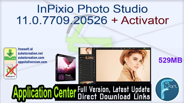 InPixio Photo Studio 11.0.7709.20526 + Activator