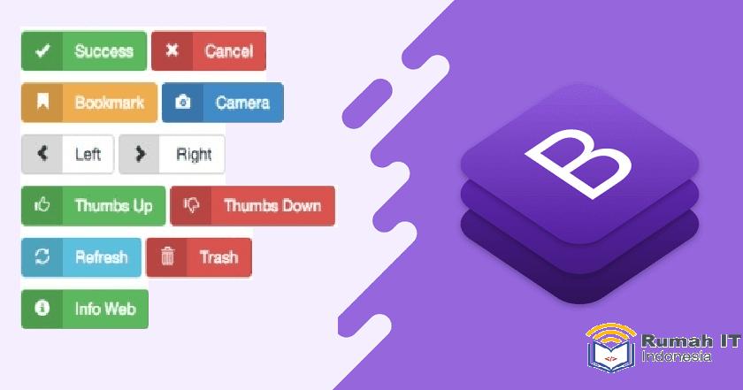 Membuat Tombol Download di Blog Menggunakan Bootstrap dan Font Awesome