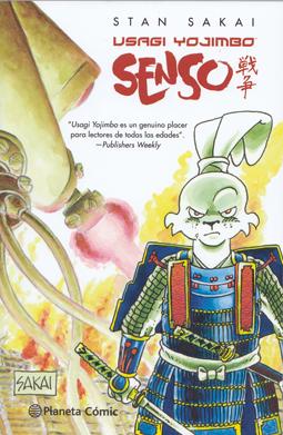 Usagi Yojimbo - Senso de Stan Sakai, edita Planeta Comic